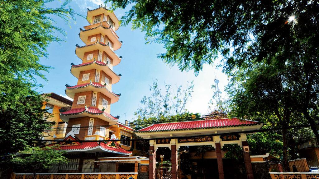Пагода Са Лои в Хошимине