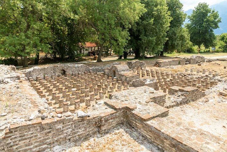 Археологический парк в Дионе, Греция