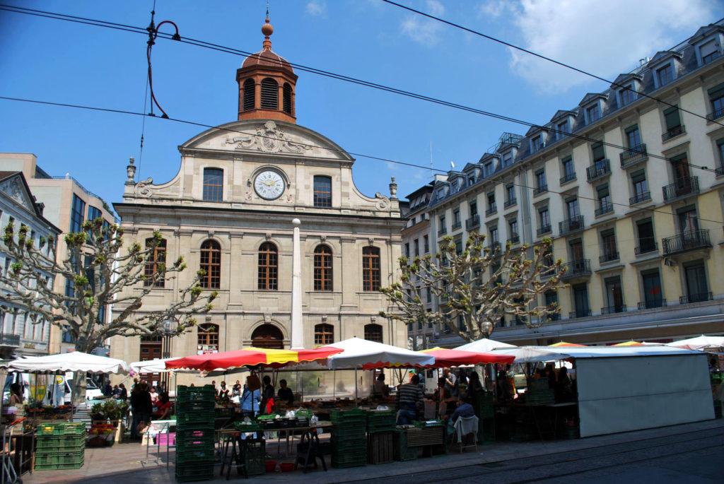 Реформаторская церковь Тампль-де-ла-Фюстери в Женеве