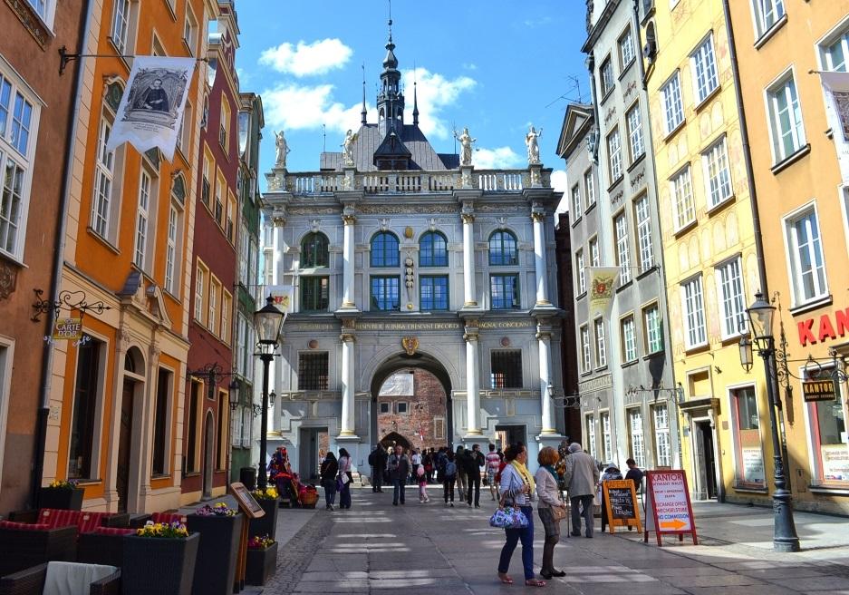 Золотые ворота Гданьска