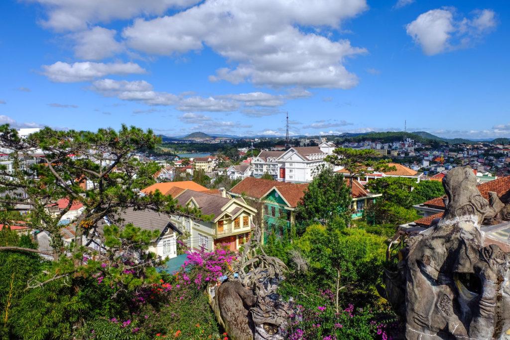 Город Далат во Вьетнаме