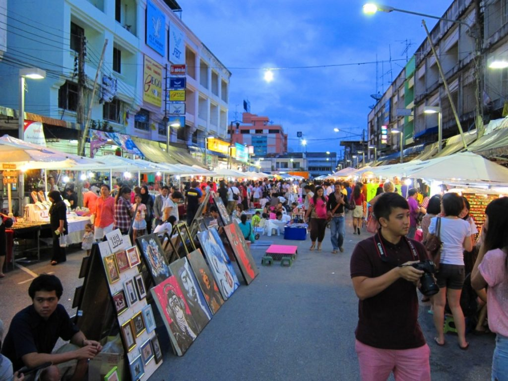 Ночные рынки Краби