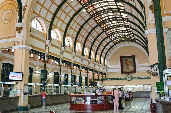 Центральная почта Хошимина