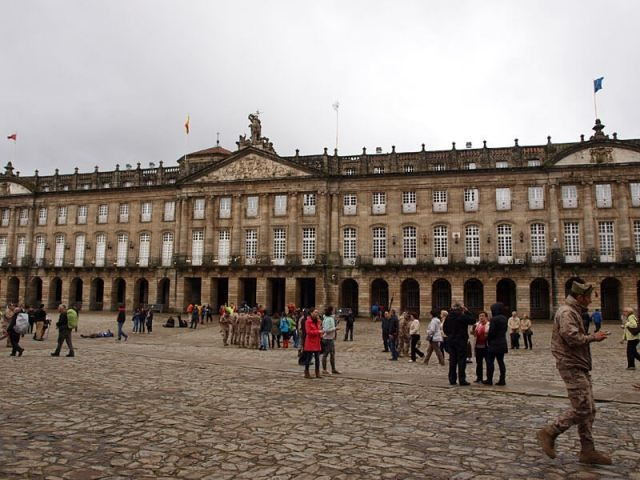 Дворец Рахой в Сантьяго-де-Компостела