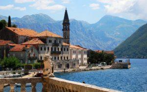 Город Тиват в Черногории