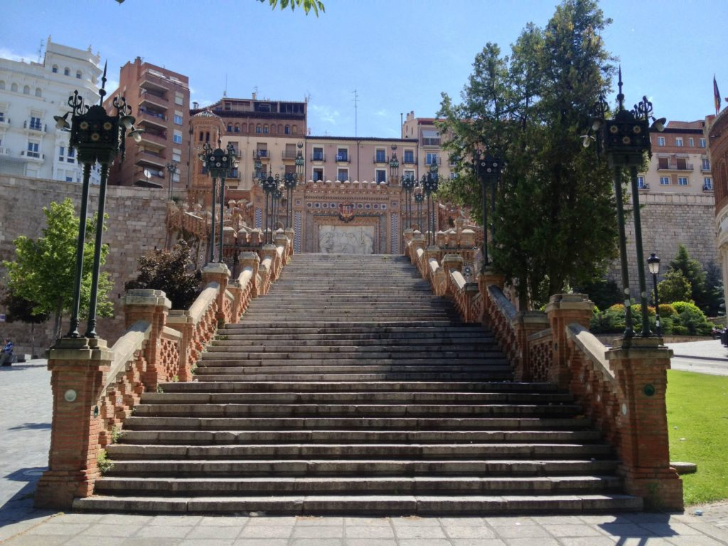 Лестница на площади Кинтана, Сантьяго-де-Компостела