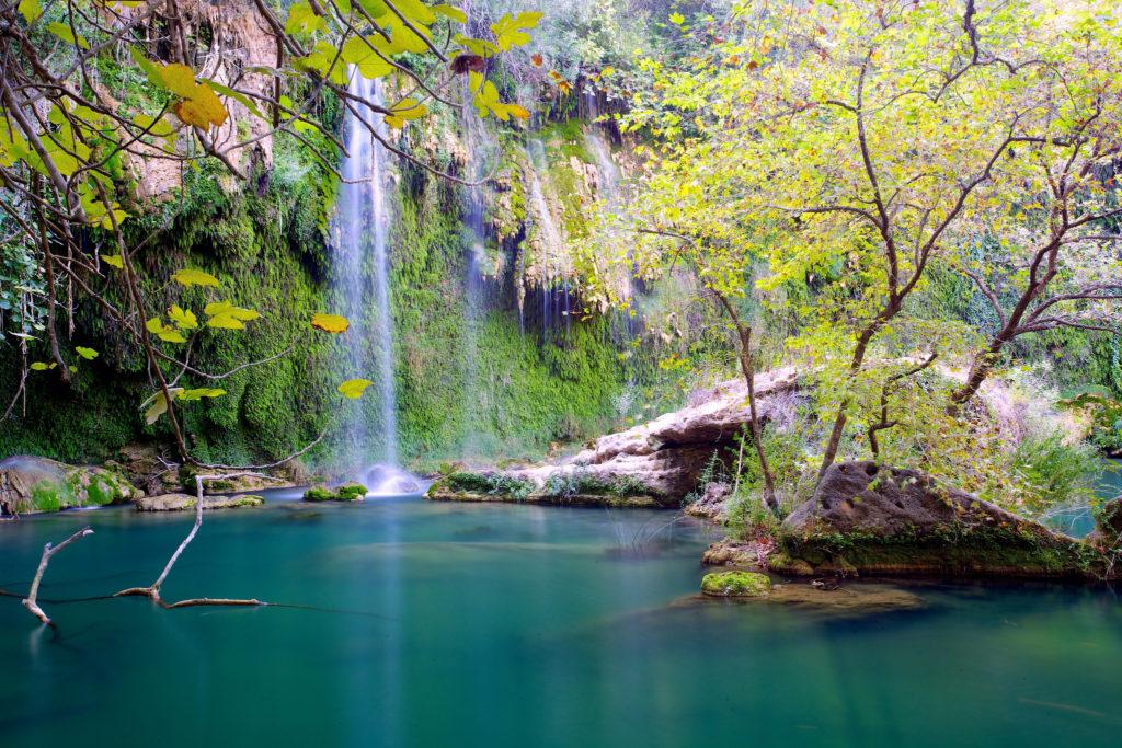 Водопад Куршунлу близ Антальи