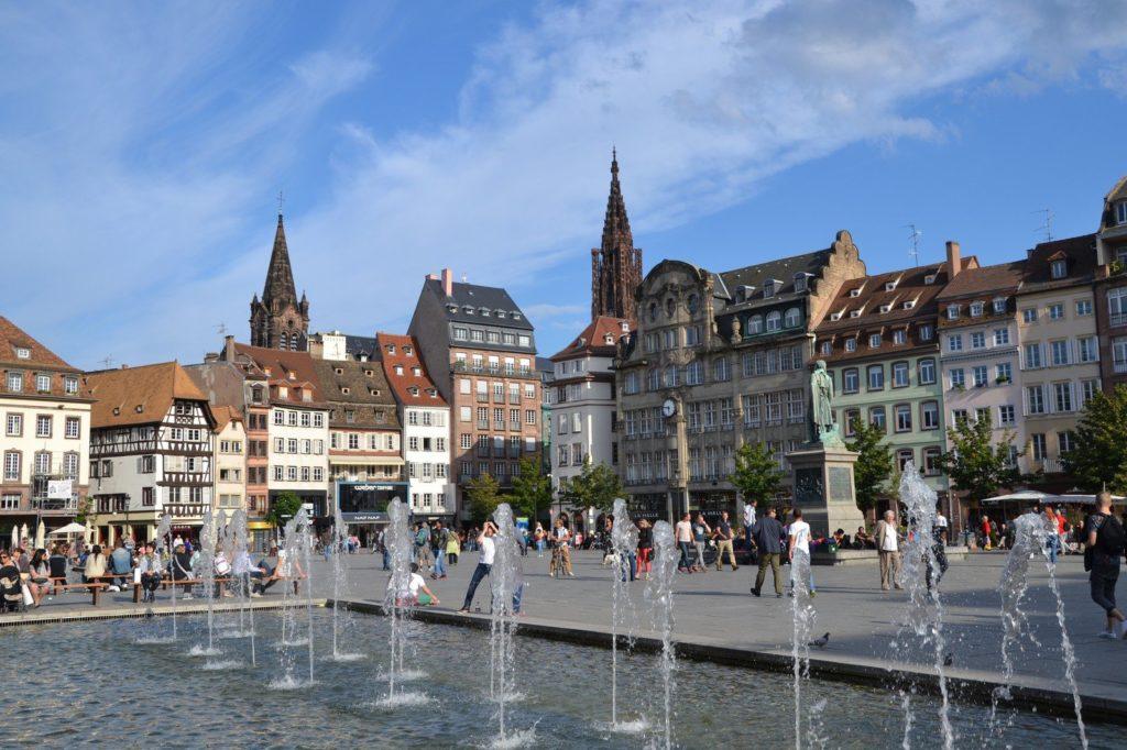 Площадь Клебера в Страсбурге