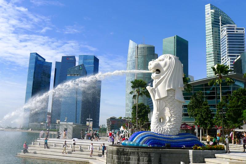 Статуя Мерлиона в Сингапуре