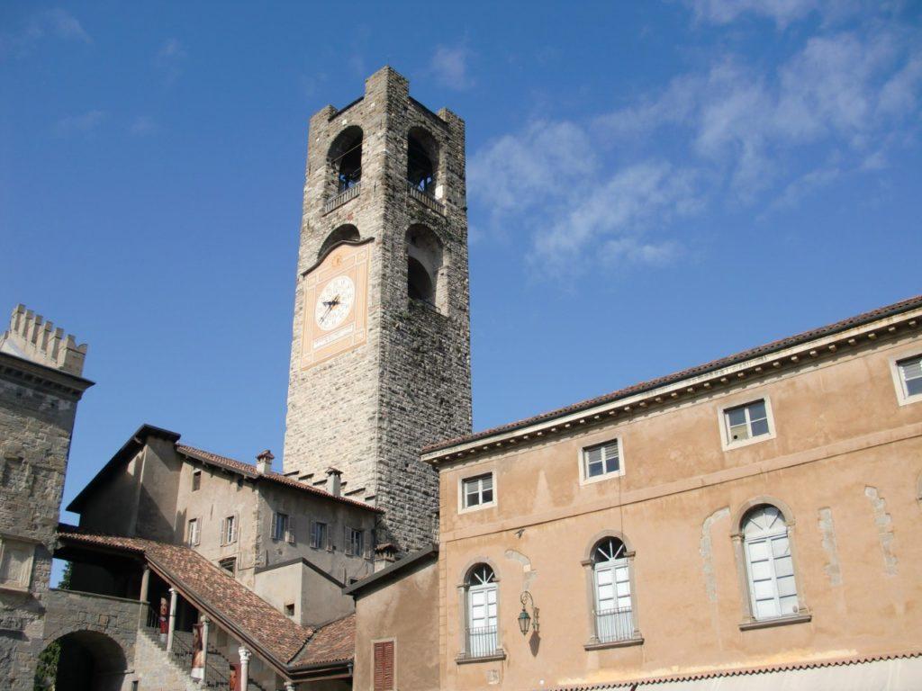 Башня Кампаноне, Бергамо, Италия