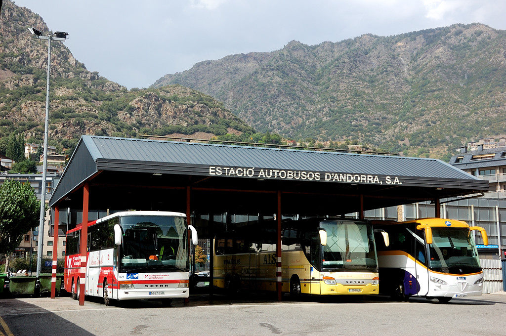 Автобусная станция Андорра-ла-Вельи