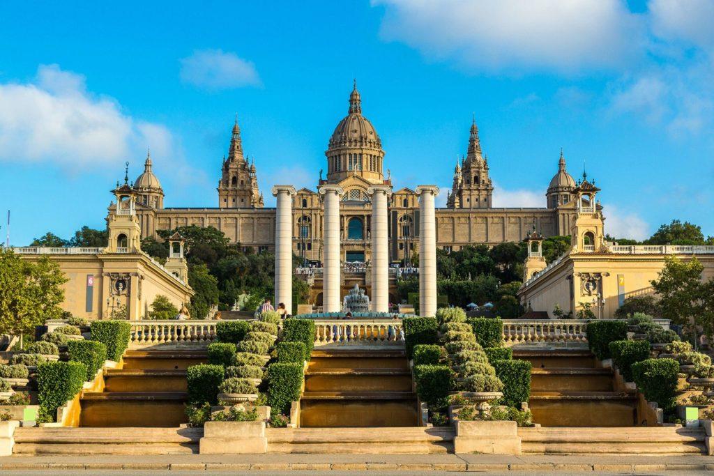 Национальный музей искусства в Барселоне