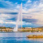 Город Женева в Швейцарии