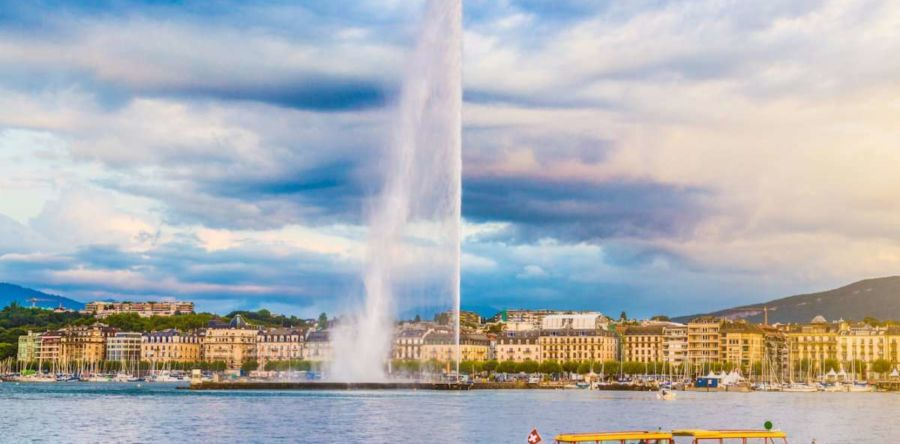 Женева – многоликий и чрезвычайно чистый город роскоши в Швейцарии