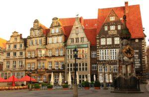 Город Бремен в Германии