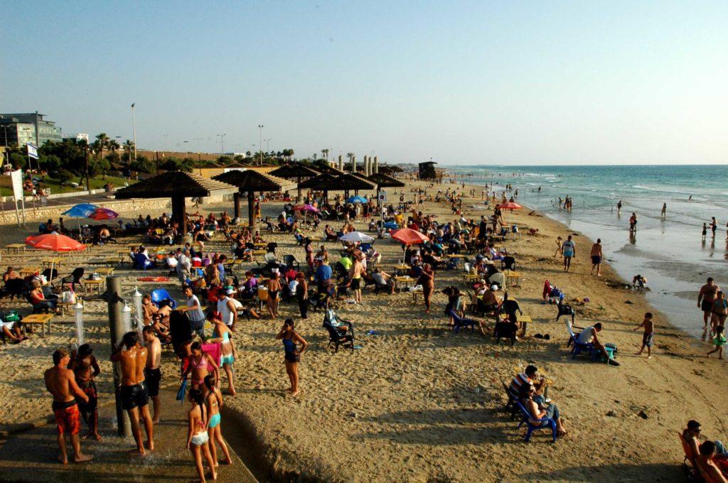 Пляж Дадо в Хайфе