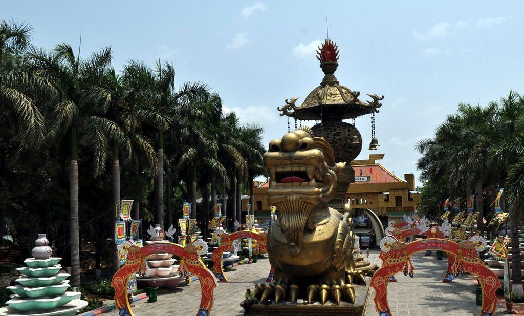 Парк развлечений Суйон Тьен в Хошимине
