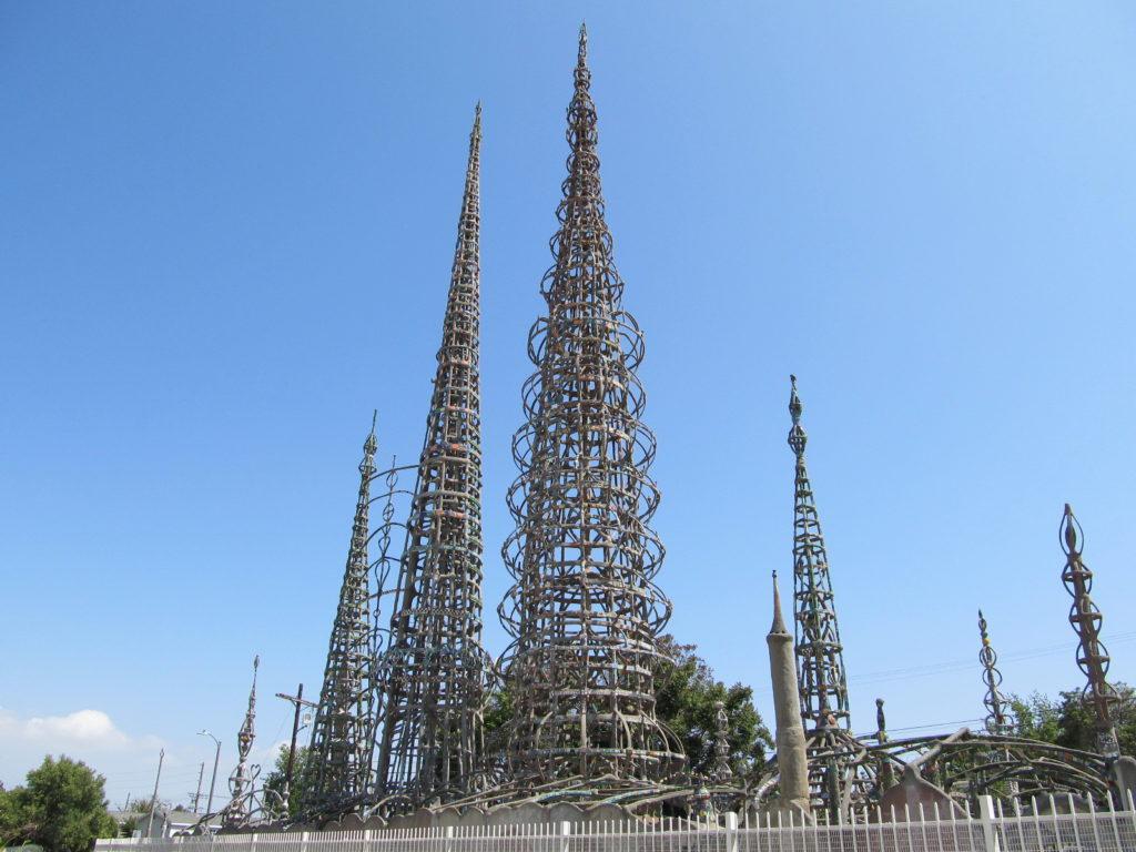 Уоттс-Тауэрс в Лос-Анджелесе