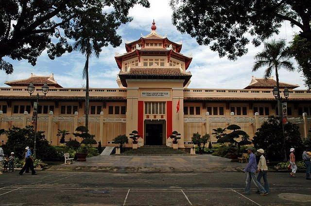Музей вьетнамской истории в Хошимине