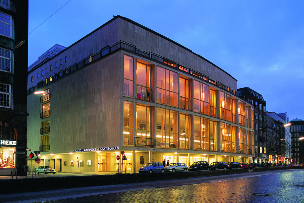 Оперный театр Гамбурга