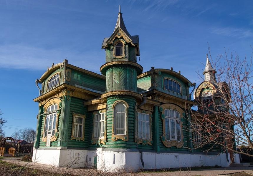 Дереянный особняк Шорина в Гороховце