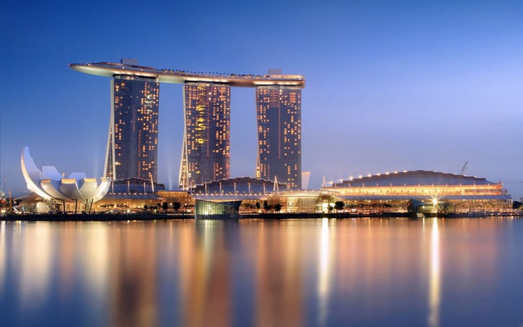 "Отель ""Marina Bay Sands"" в Сингапуре"