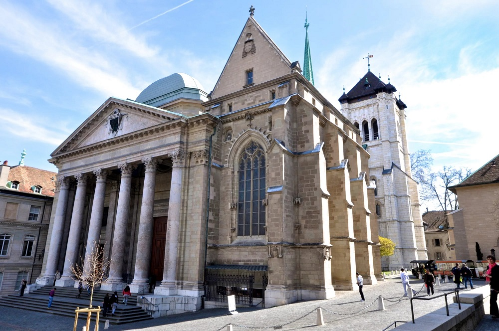 Кафедральный собор Сен-Пьер в Женеве
