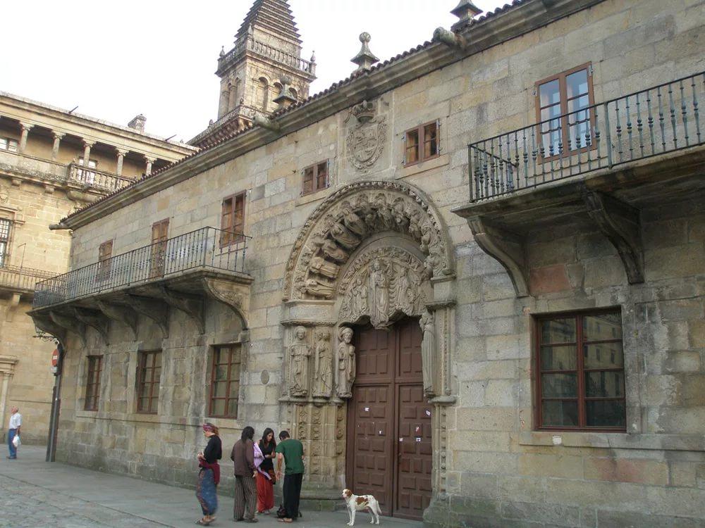Колледж Святого Иеронима в Сантьяго-де-Компостела