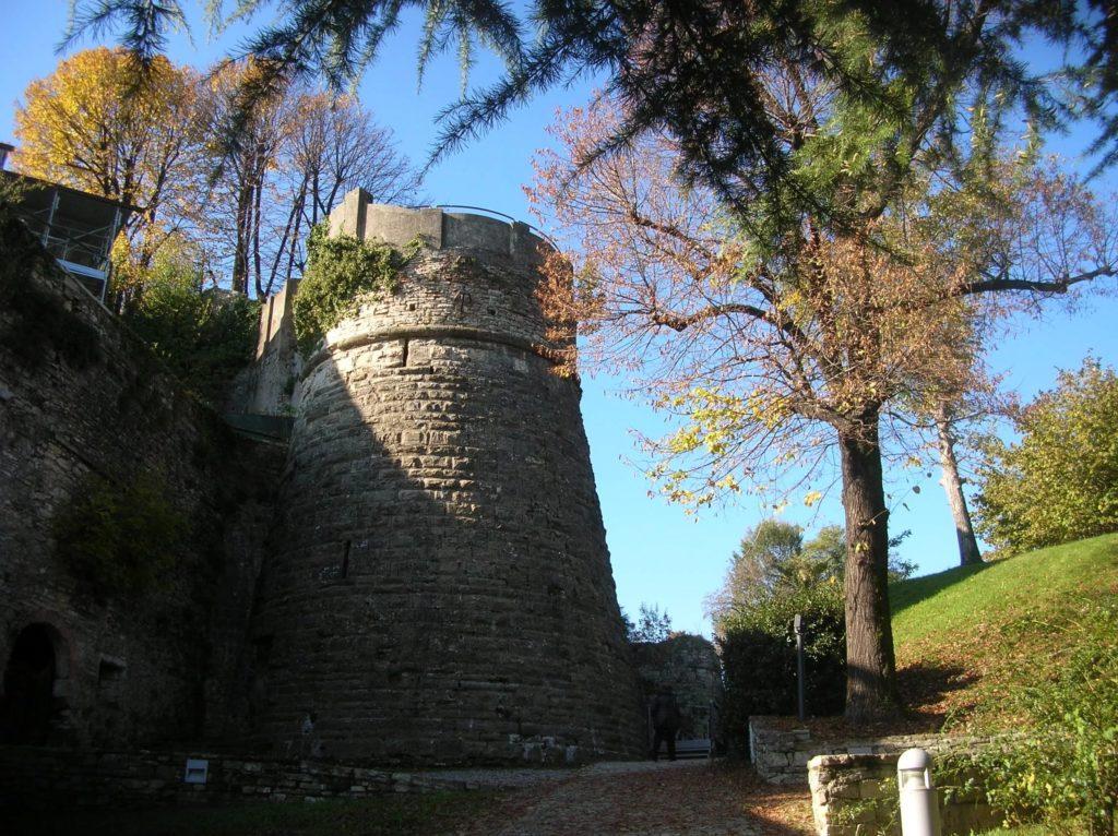 Крепость Сан-Виджилио в Бергамо