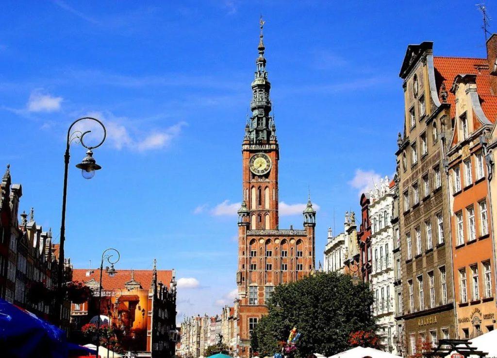 Главная ратуша Гданьска