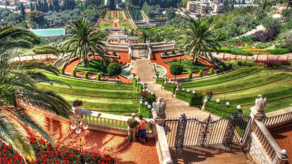 Садовые террасы Хайфы