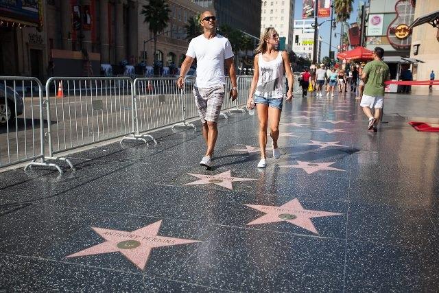 Голливудская «Аллея Славы» в Лос-Анджелесе