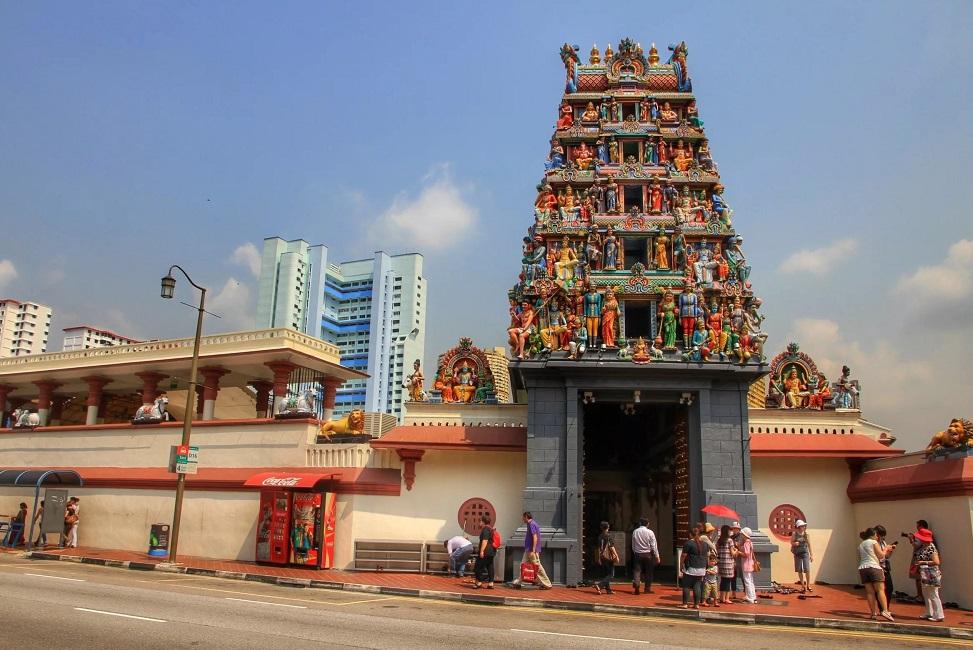 Храм Шри Мариамман в Сингапуре