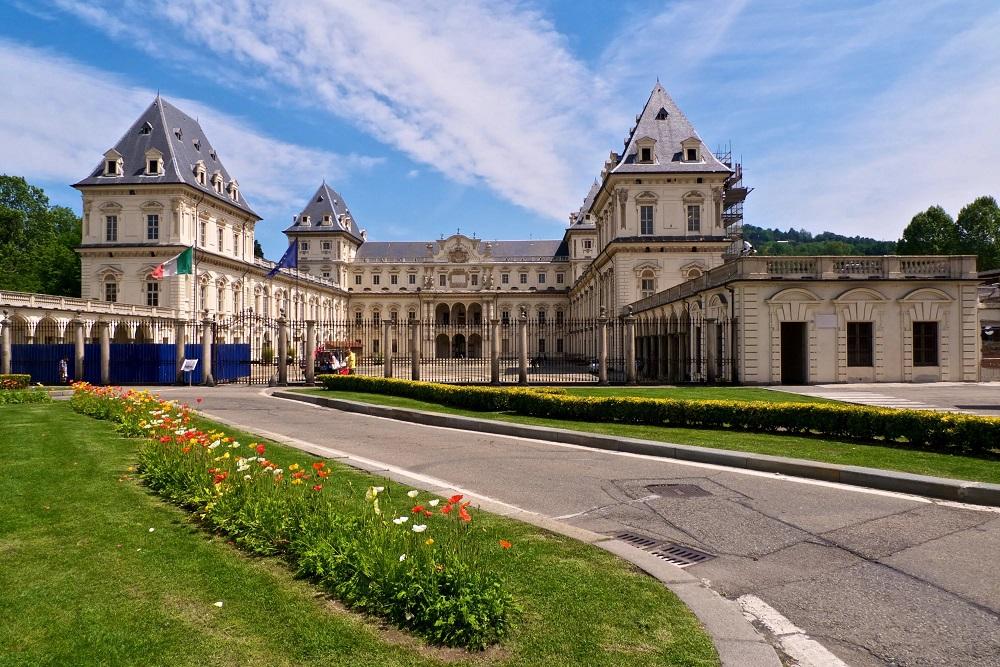 Замок Валентино в Турине