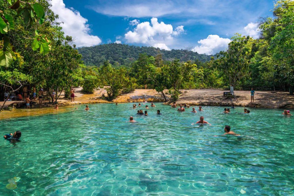 Изумрудное озеро заповедника Khao Pra Bang Khram, Краби