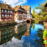 Город Страсбург во Франции