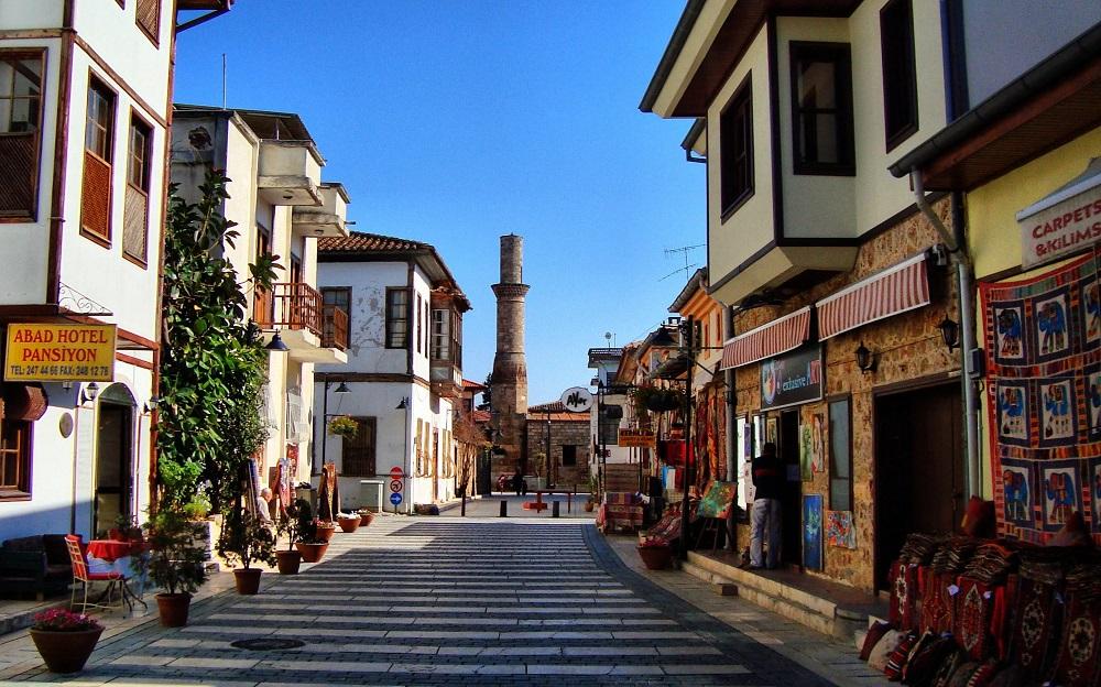 Район Калеичи в Анталье, Турция