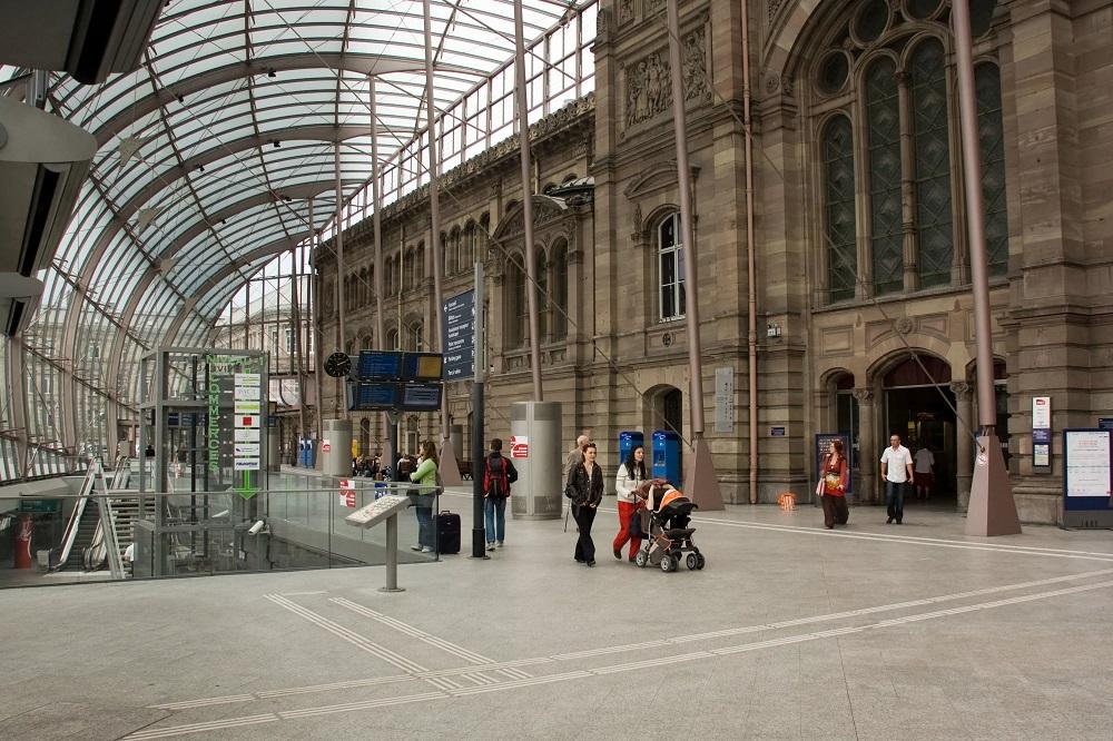 Железнодорожный вокзал Страсбурга