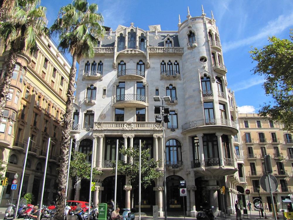 """Отель """"Casa Fuster"""" в Барселоне"""