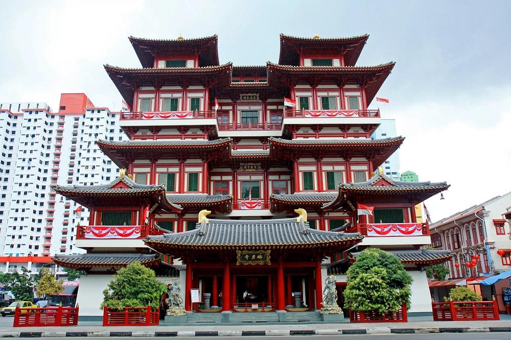 Храм-музей Священного Зуба Будды в Сингапуре