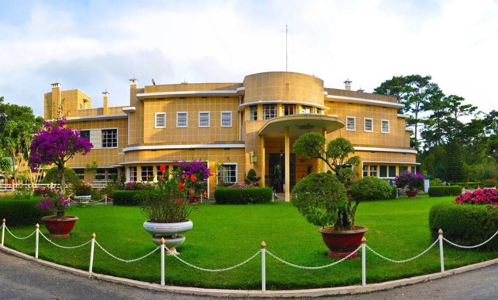 Летняя резиденция императора Бао Дая в Далате