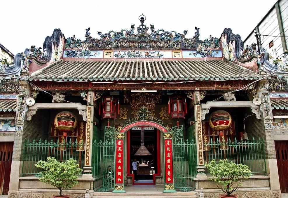 Пагода Тхиен Хау в Хошимине