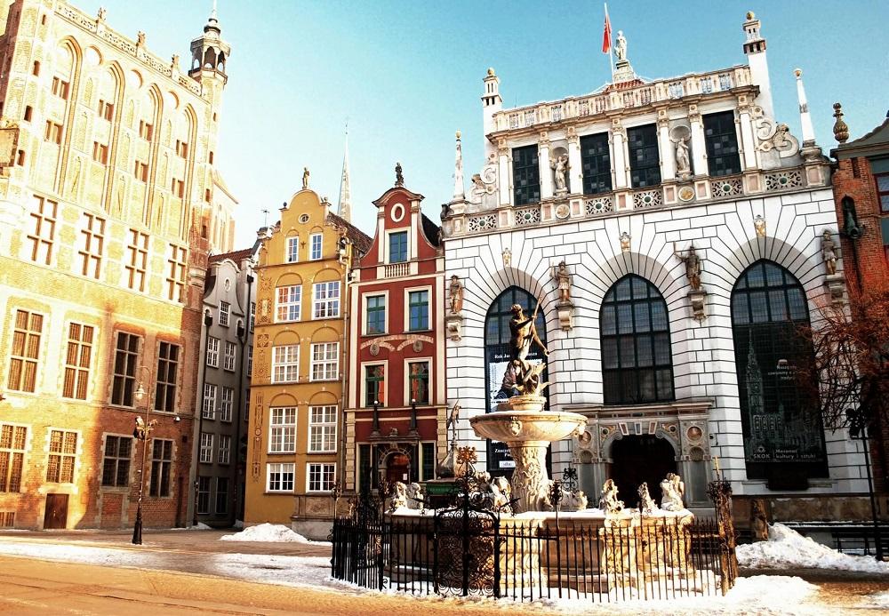 Двор Артуса, Гданьск, Польша