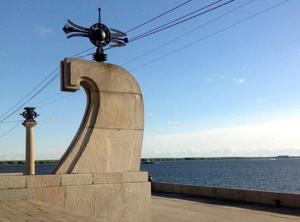 Мыс Пур-Наволок в Архангельске