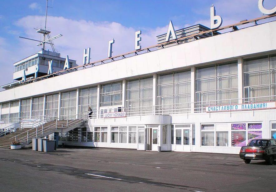 Морской вокзал Архангельска