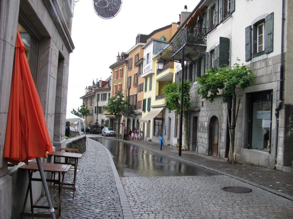 Улицы Монтрё, Швейцария