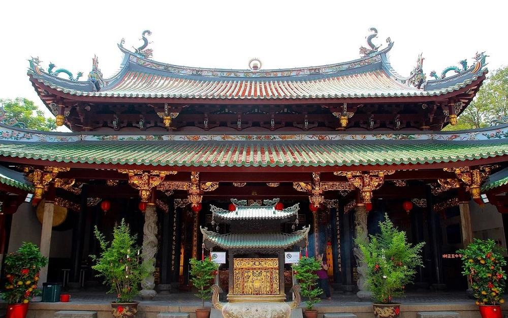 Храм Тхиан Хок Кенг в Сингапуре