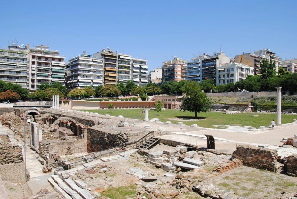 Римский форум Салоников