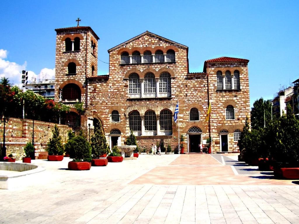 Базилика Святого Димитрия в Салониках
