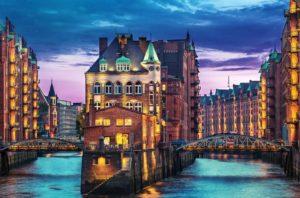 Город Гамбург в Германии